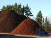 mulch-pile